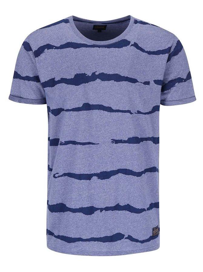 Svetlofialové vzorované tričko !Solid Bryatt