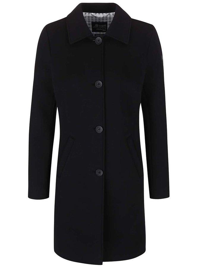 Čierny dámsky kabát bugatti