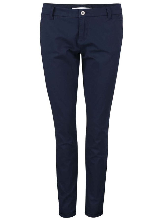 Pantaloni chino ONLY Paris - bleumarin