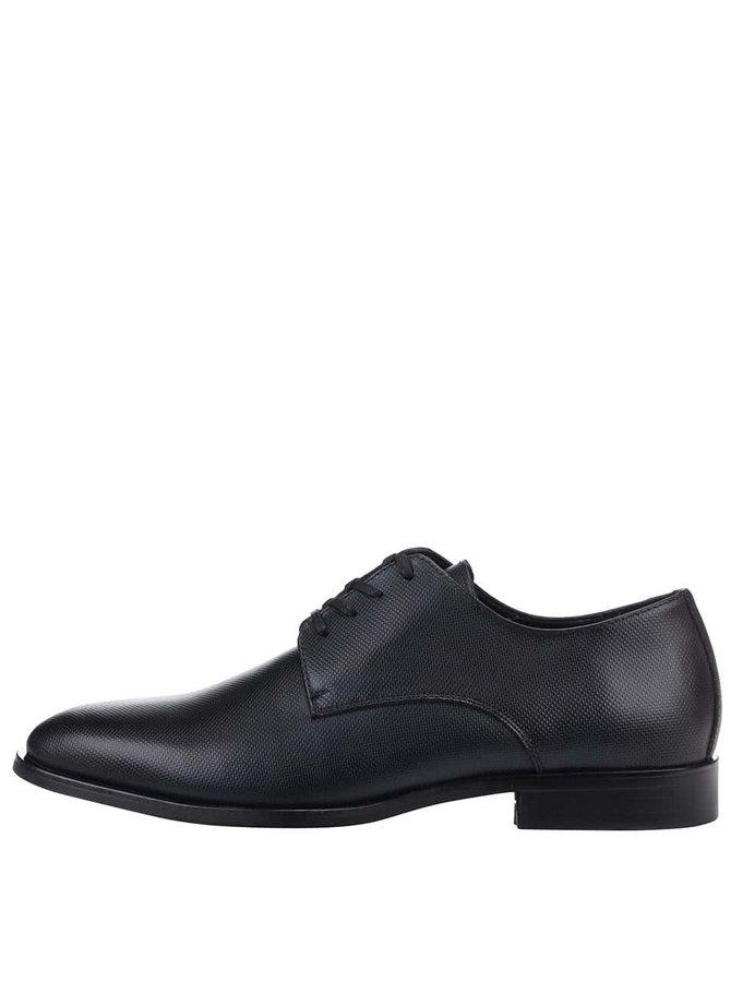 Pantofi Derby ALDO Bax bărbătești din piele navy