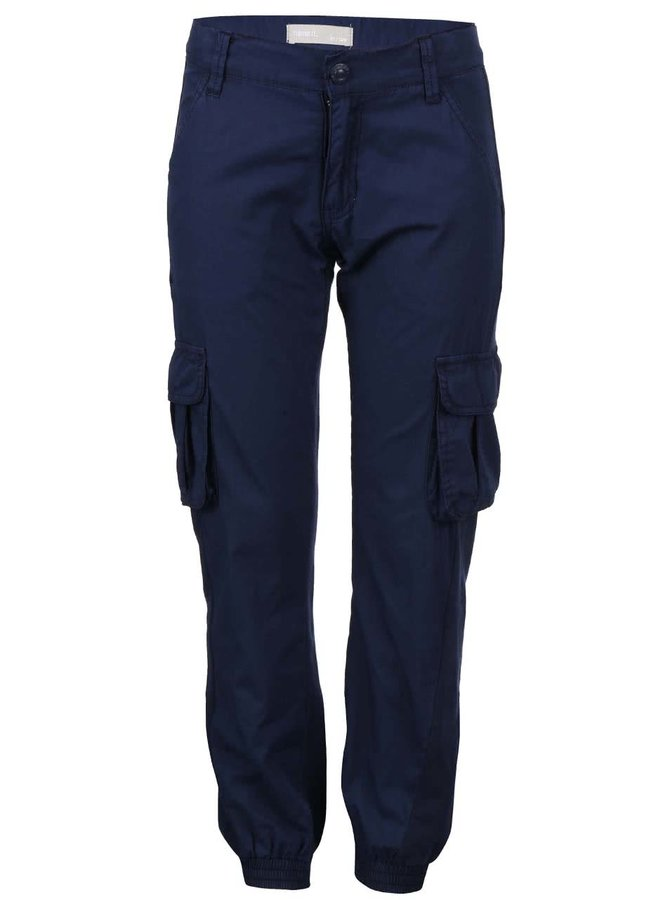 Tmavě modré klučičí kapsáčové kalhoty name it Ferdinan