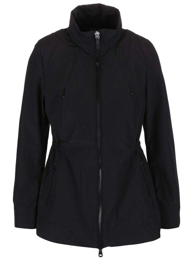 Jachetă de damă Geox neagră cu glugă