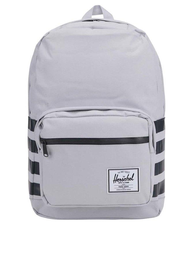 Sivý batoh s pruhmi Herschel Pop Quiz 20 l