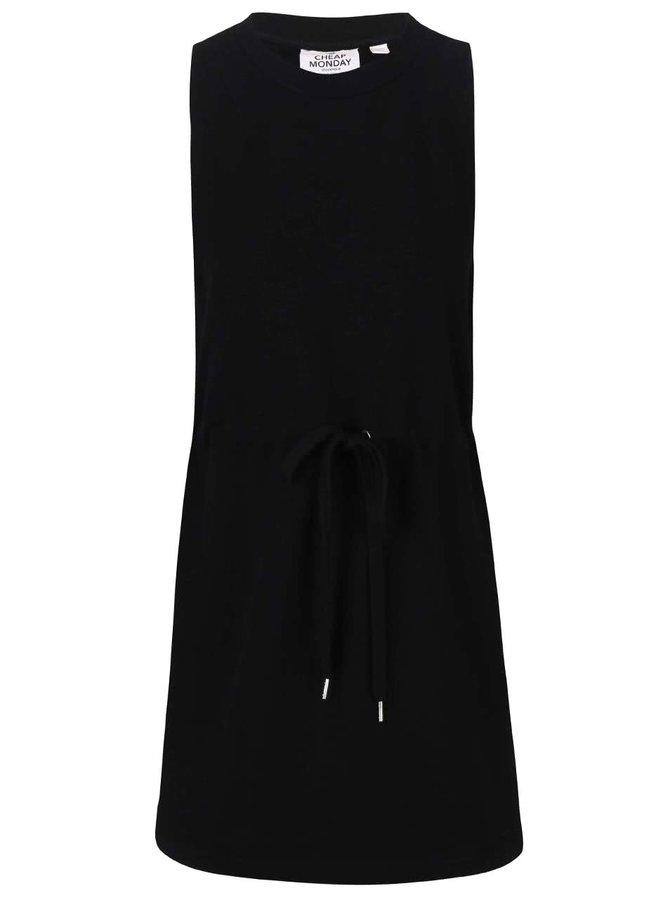 Čierne mikinové šaty Cheap Monday Fuel