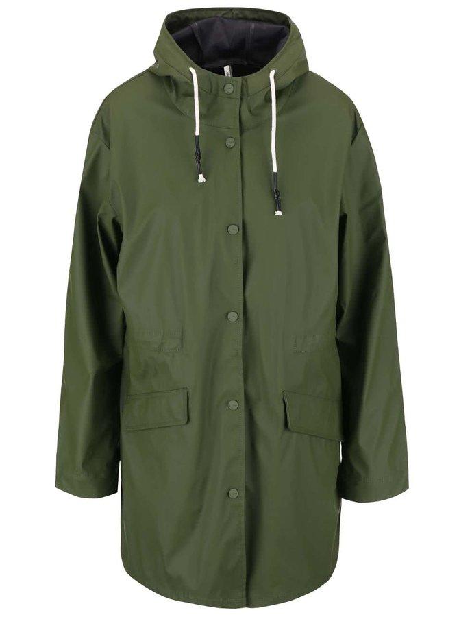 Jachetă impermeabilă ONLY Fine, de culoare verde