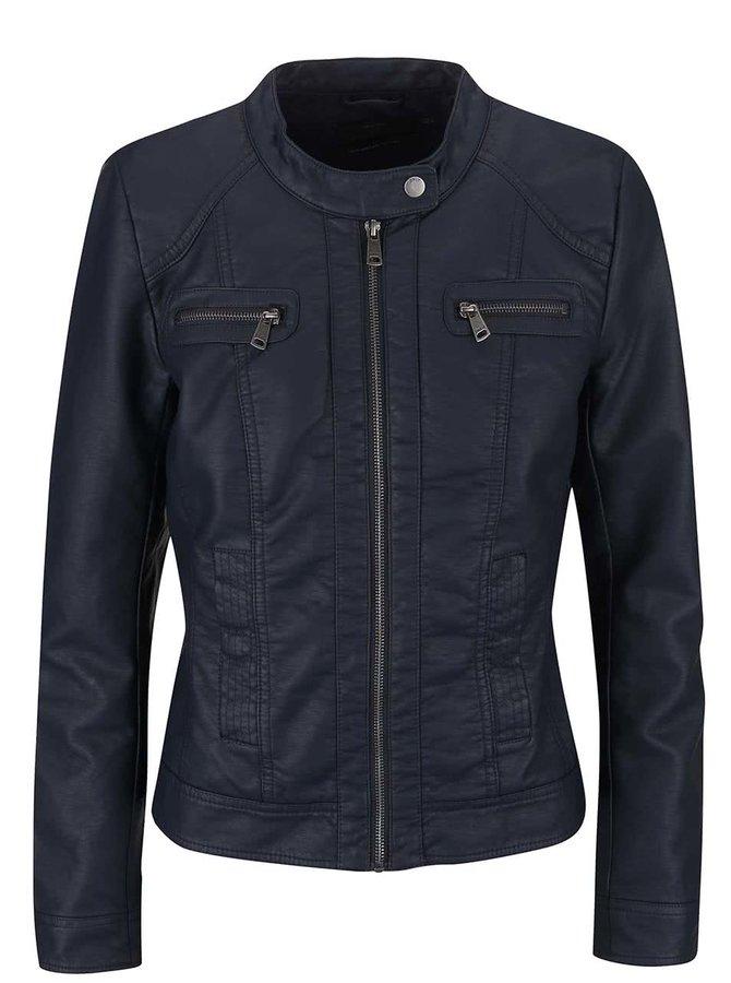 Jachetă ONLY Bandit Navy Faux din piele