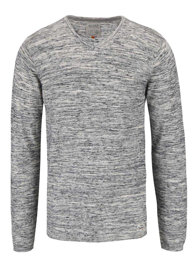 Bluză subțire Blend gri deschis