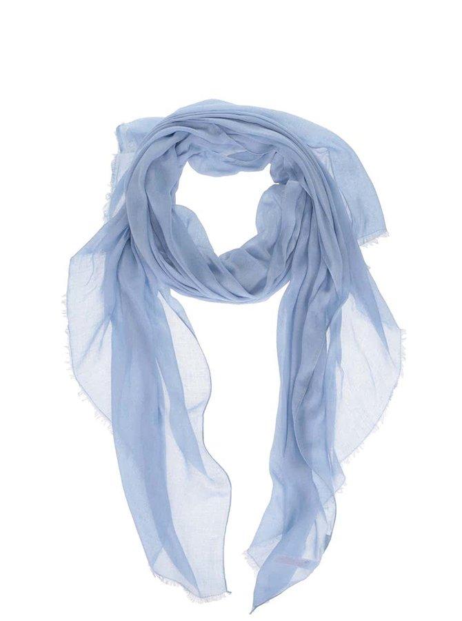 Modrá dlhá šatka Pieces Tilda