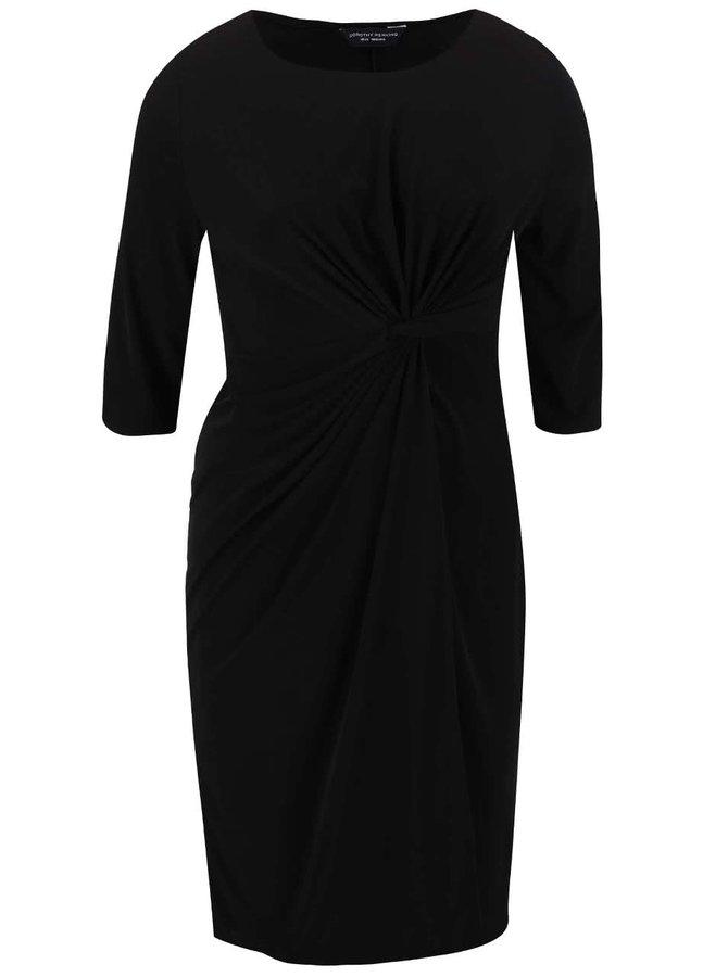 Černé šaty s 3/4 rukávy Dorothy Perkins Curve