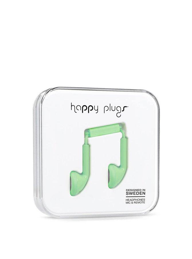 Căști verzi Happy Plugs
