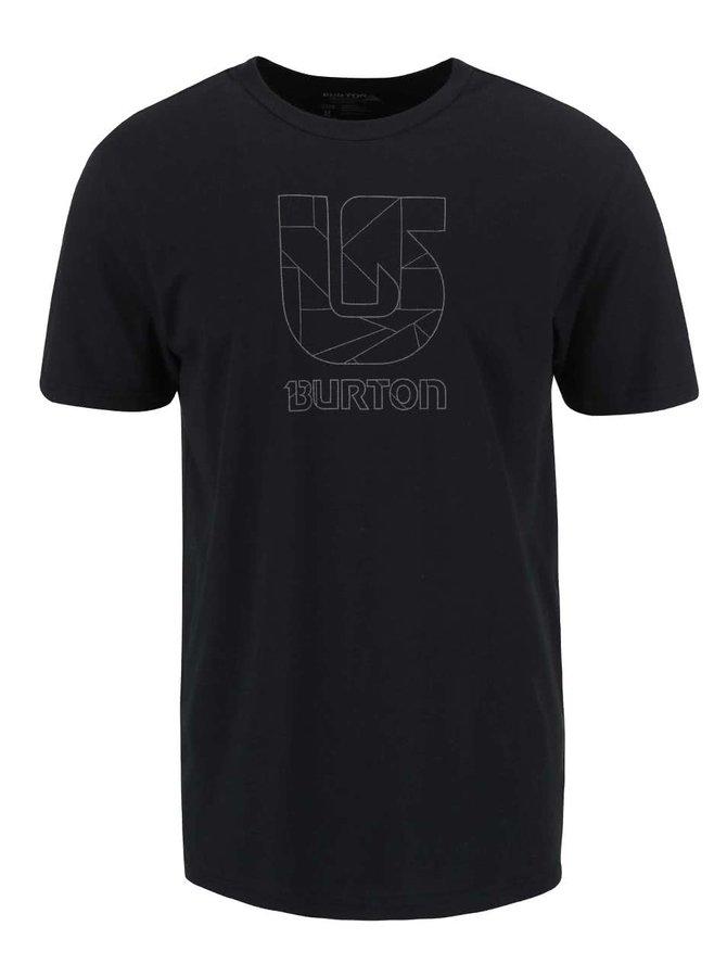 Černé pánské triko Burton Logo