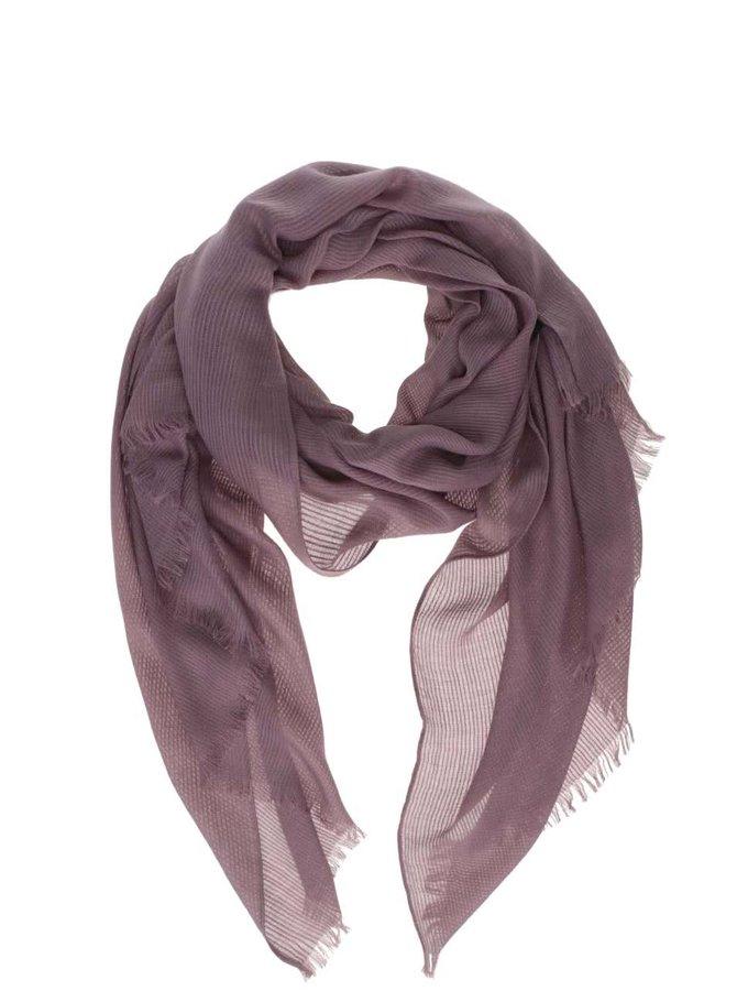 Fialový šátek ONLY Luvre