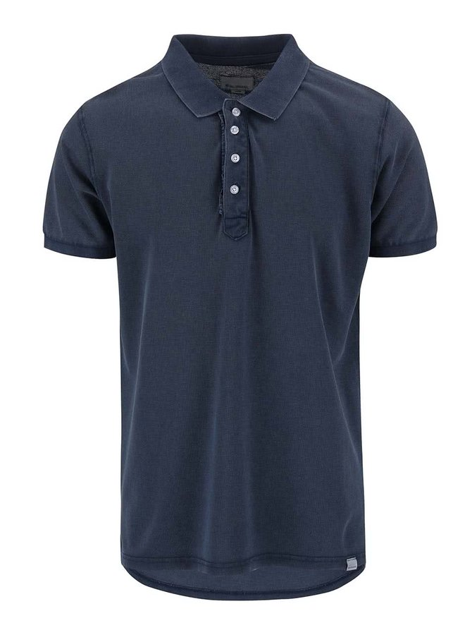 Tricou Polo Shine Original Rider navy