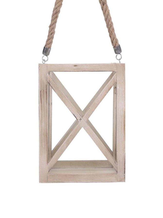 Suport lumânare Dakls din lemn