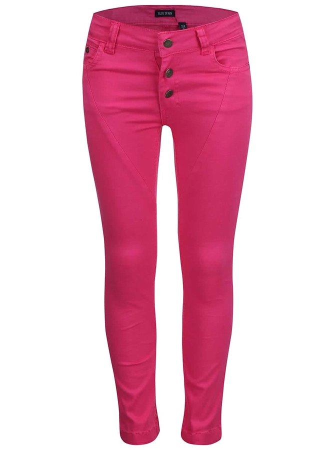 Růžové holčičí kalhoty Blue Seven