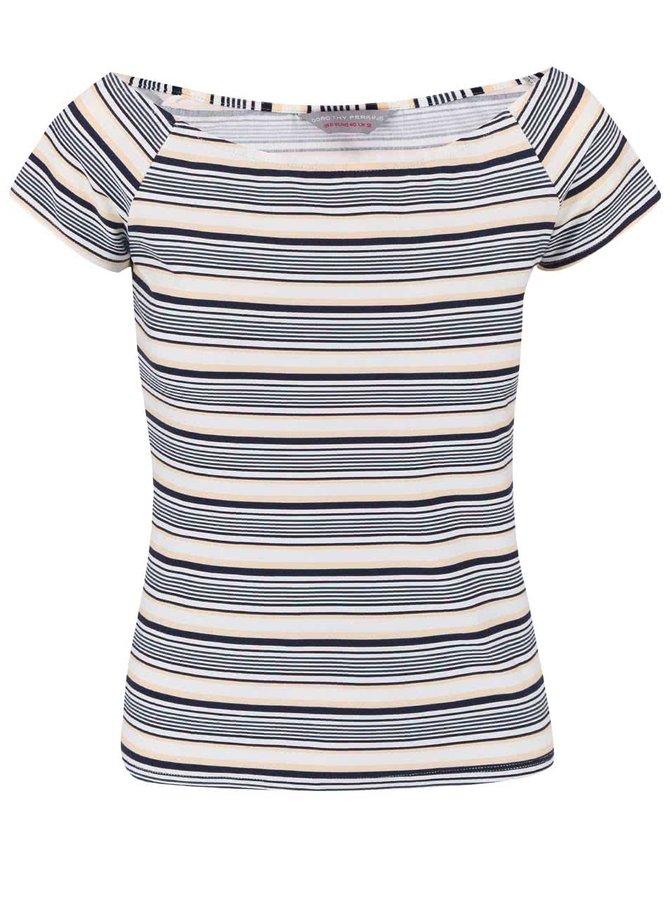 Tricou Dorothy Perkins Petite în dungi