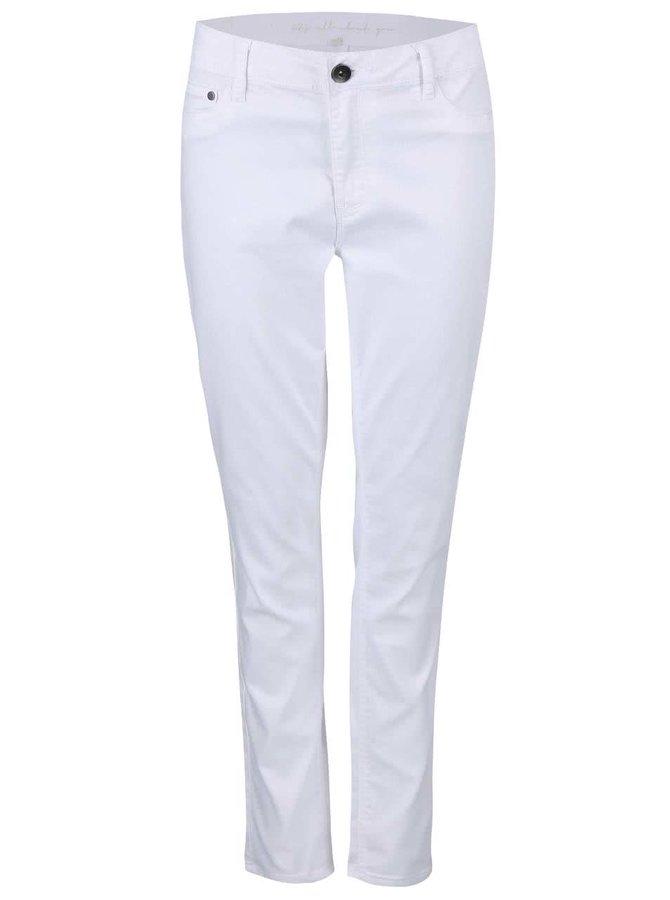 Skinny jeans PEPE Safira albi