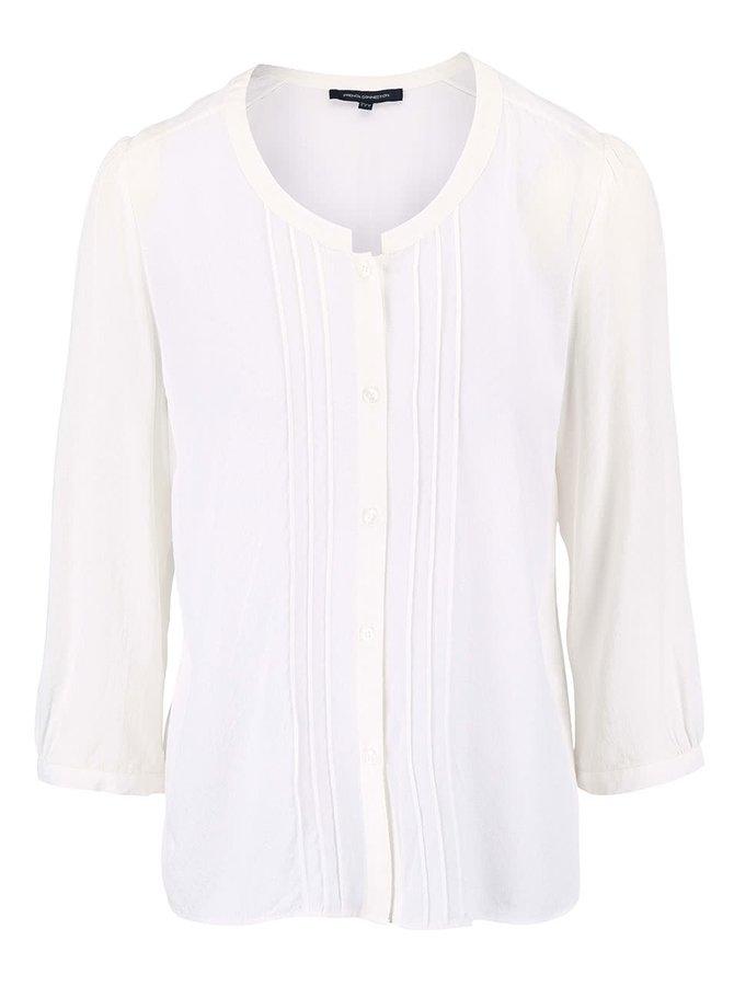 Krémová košeľa s vyšívaným vzorom French Connection Empire