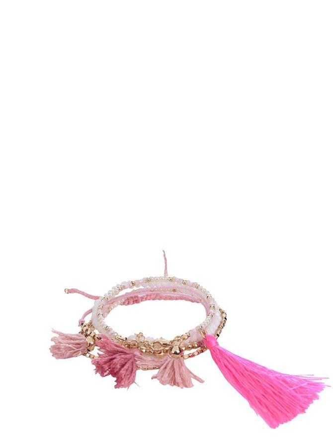 Sada náramků v růžovo-zlaté barvě Pieces Vasa