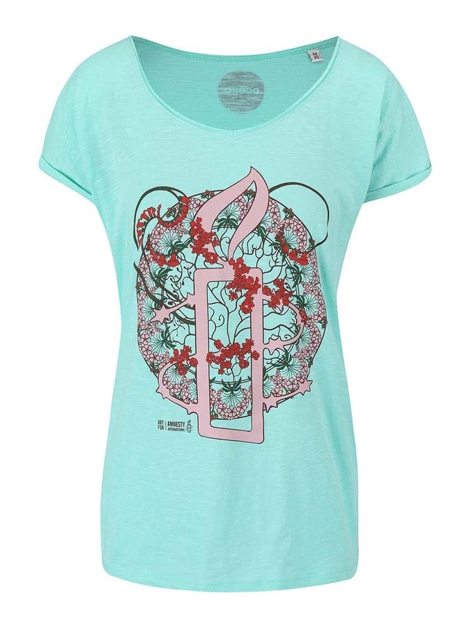 """Dobré"" zelené dámske tričko pre Amnesty International"