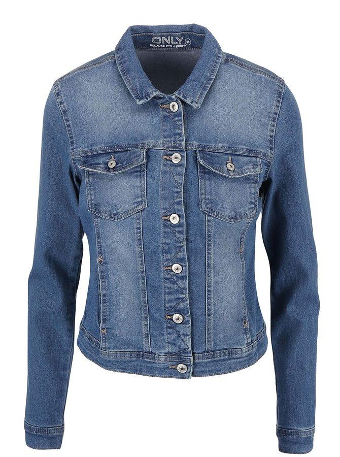 Modrá rifľová bunda ONLY New