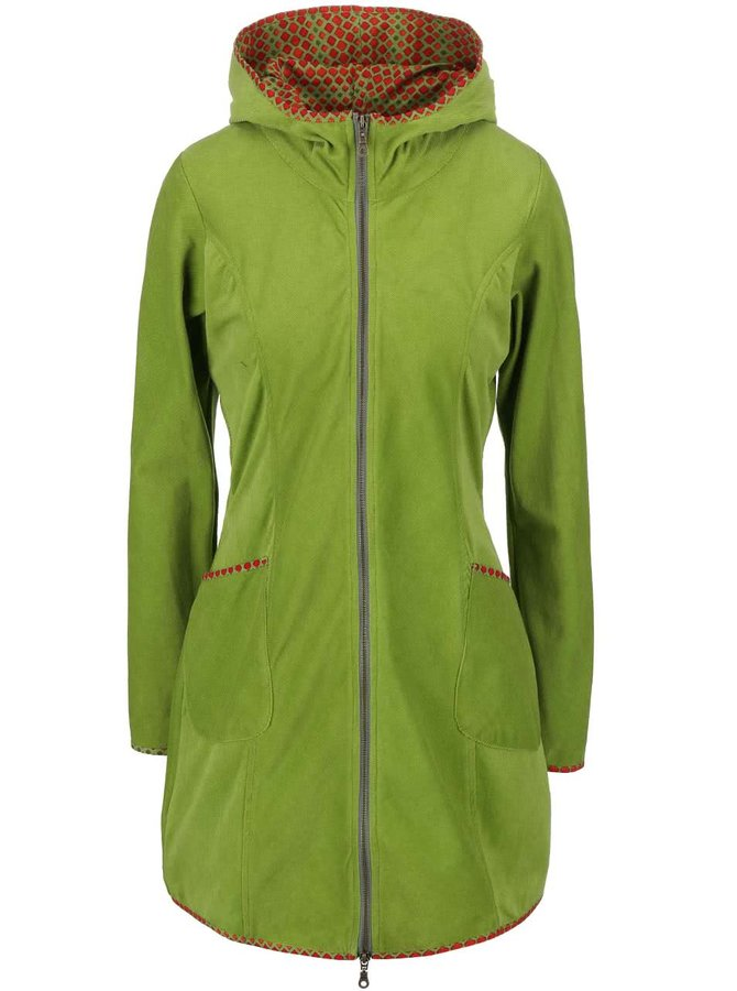 Jachetă Tranquillo Gael verde deschis