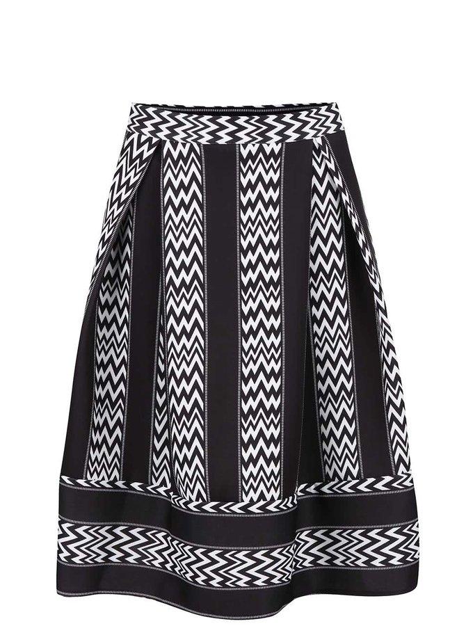 Čierna vzorovaná sukňa Alchymi Persei