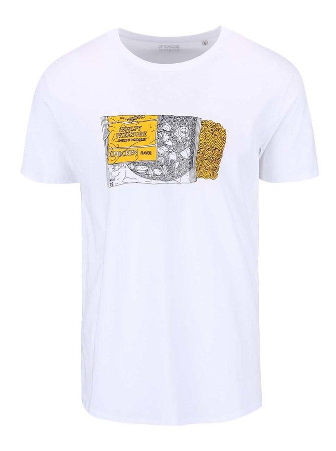 Bílé pánské triko ZOOT Originál Instant Noodle