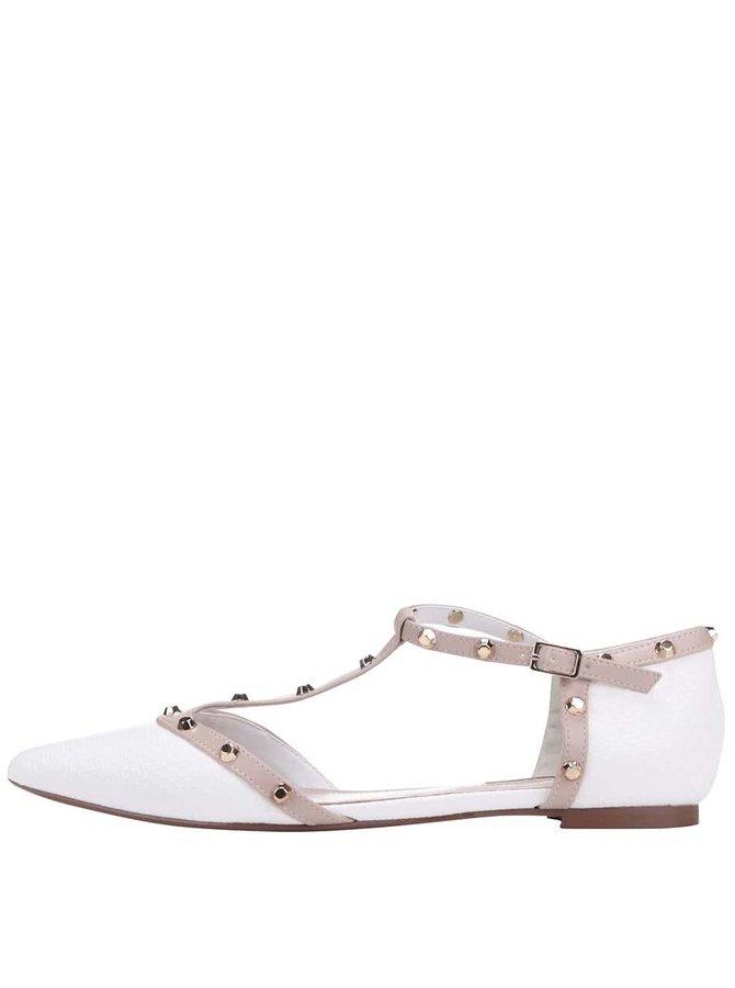 Bílé sandálky Dune London Heti