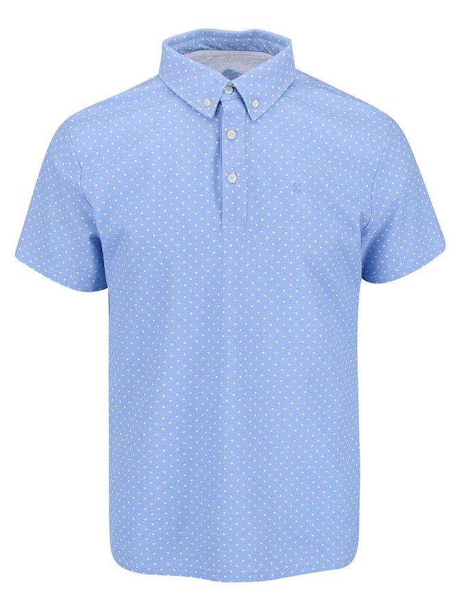 Tricou Casual Friday by Blend Polo albastru deschis