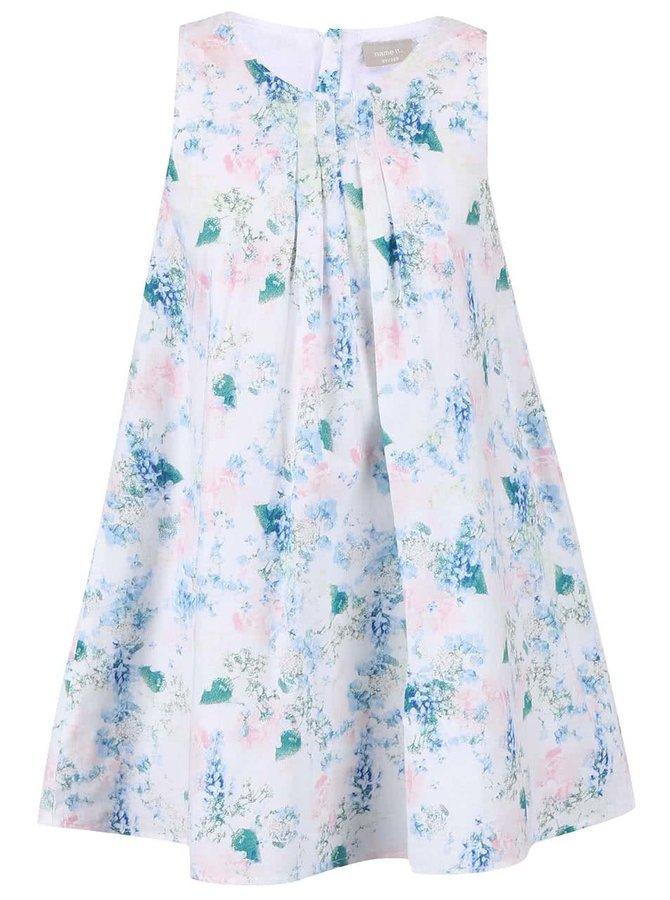 Farebné dievčenské šaty s kvetinovým vzorom name it Valaia