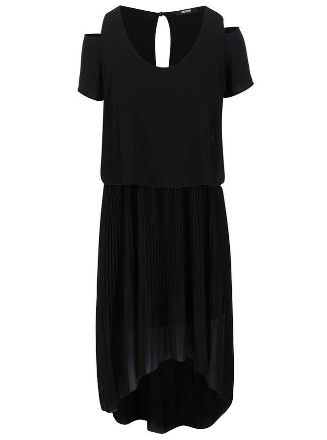 Černé šaty Alchymi Spectrolite