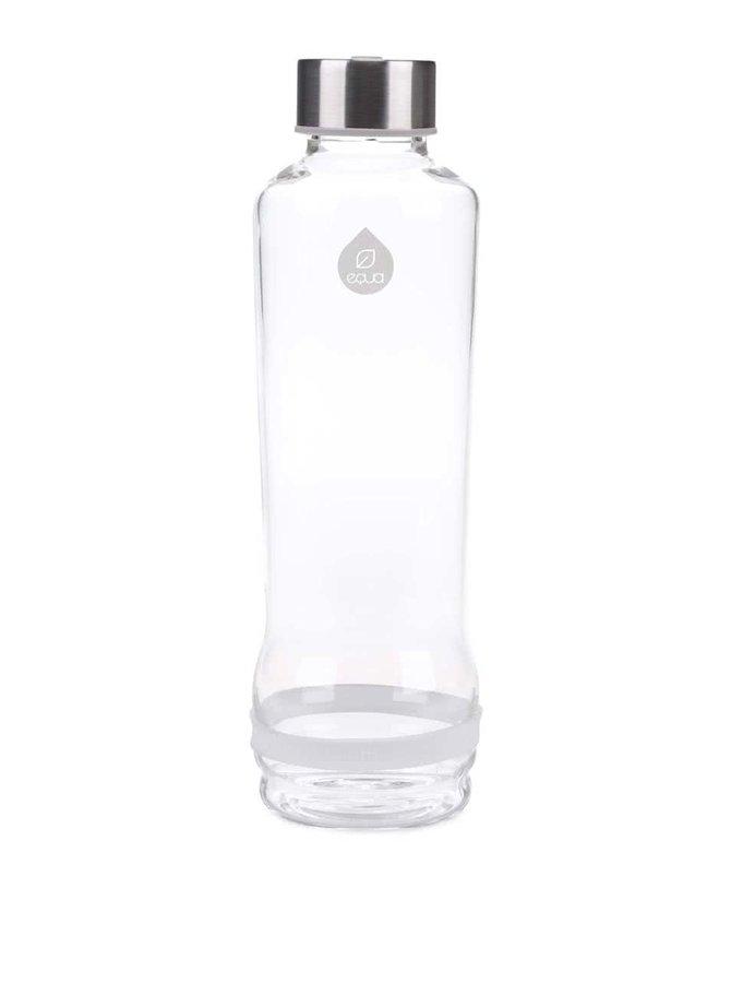 Sticlă EQUA cu dungă albă (570 ml)
