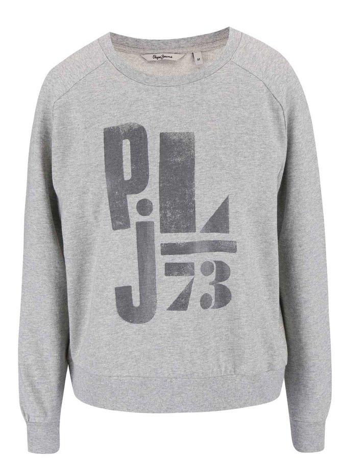 Bluză Pepe Jeans Manuela de damă gri