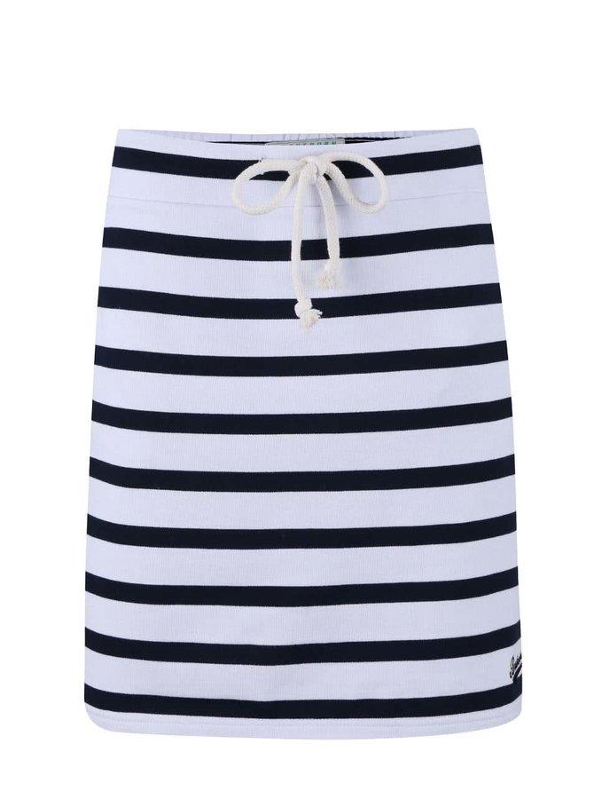 Fustă Brakeburn Stripe albastru cu alb