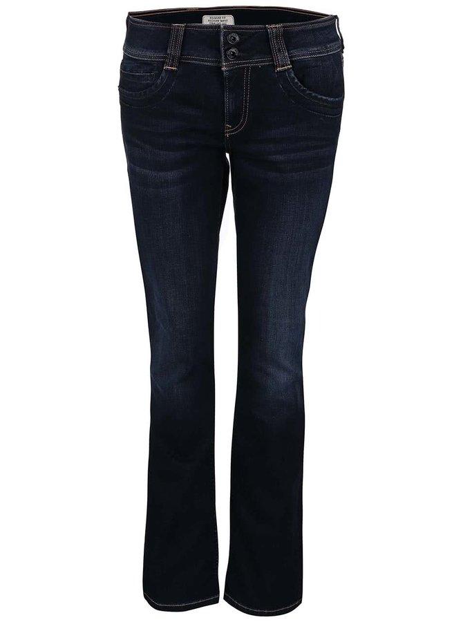 Tmavě modré dámské džíny Pepe Jeans Gen