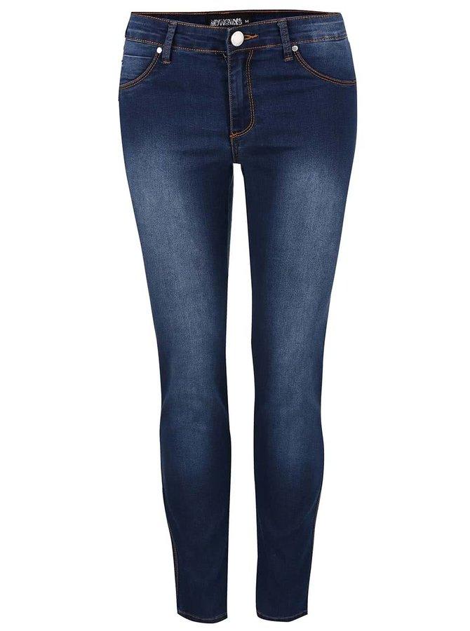 Modré rovné džíny Haily´s Kylie