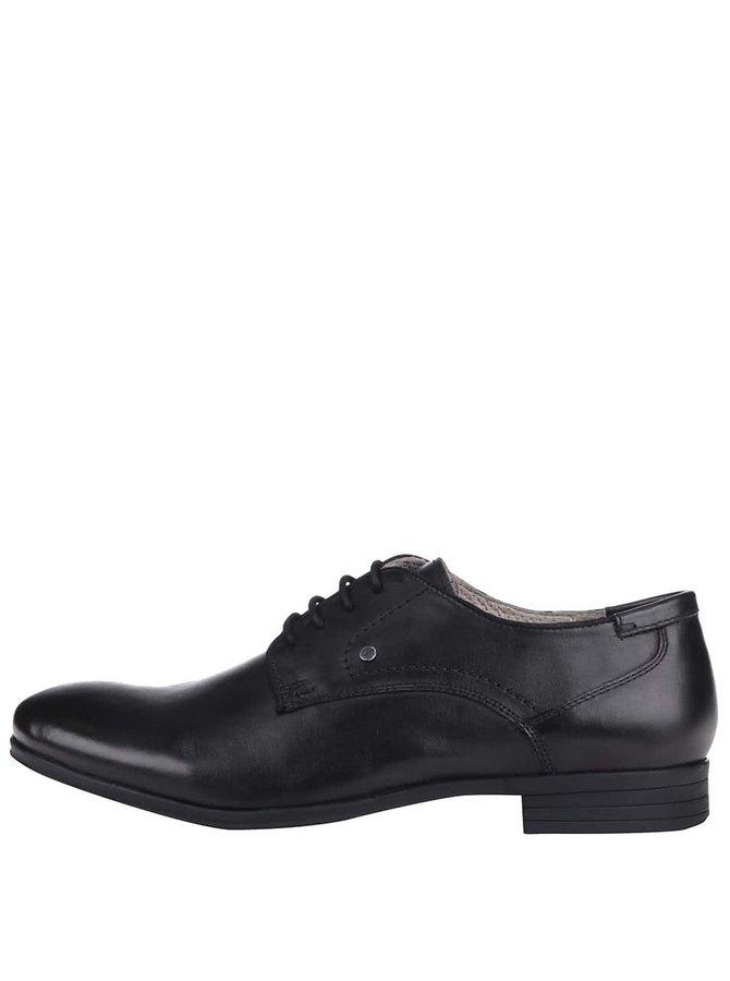 Pantofi bărbătești S.Oliver negri, din piele