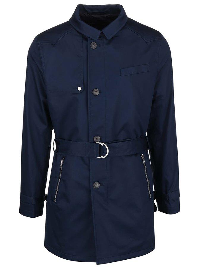 Tmavomodrý kabát Bertoni Lund