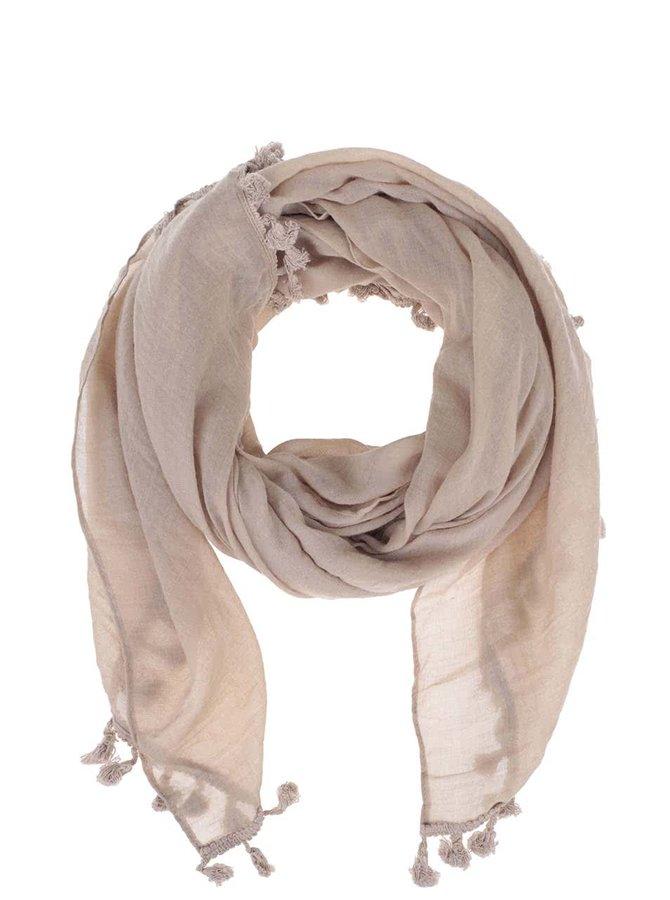 Béžový šátek Zabaione Zottel