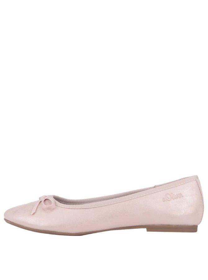 Balerini S.Oliver roz pal