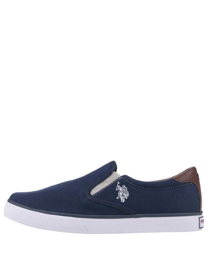 Teniși Slip-On U.S. Polo Assn. Leroy navy