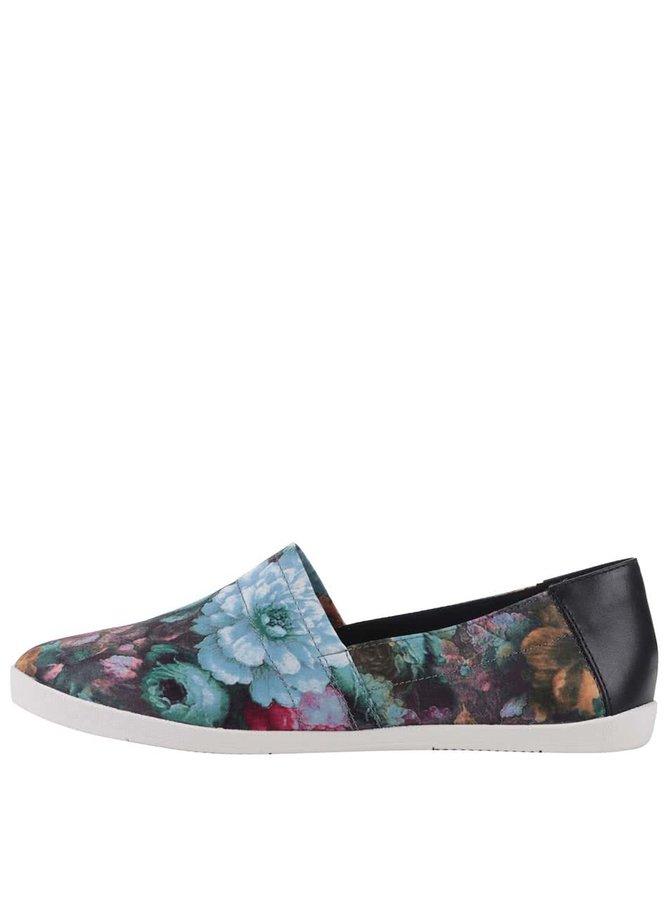 Farebné kvetované loafers Vagabond Lily