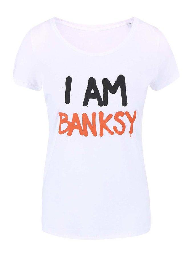 Bílé dámské tričko ZOOT Originál Banksy