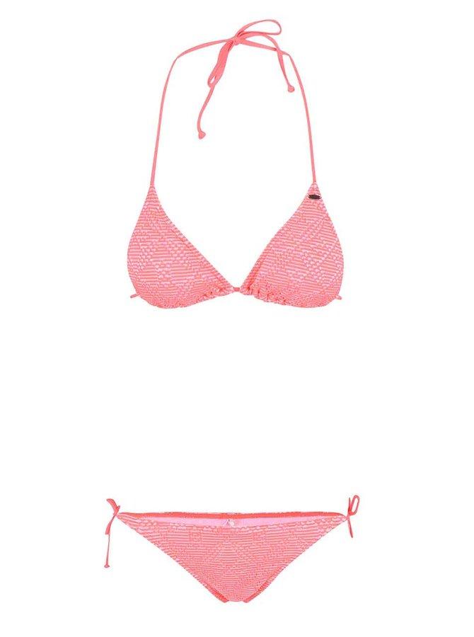 Costum de baie O'Neill Structure roz