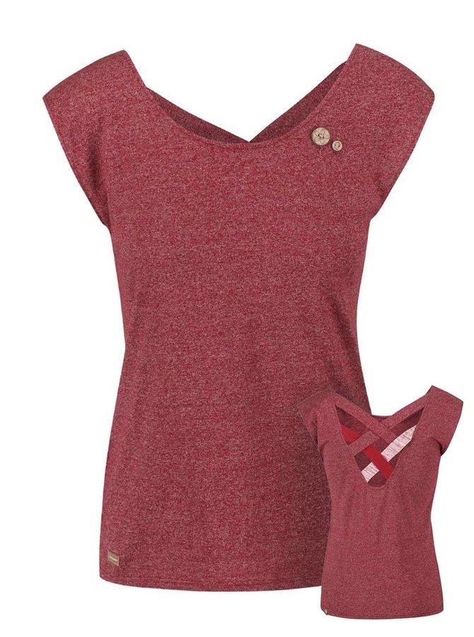 Tricou de damă Ragwear Sofia roșu