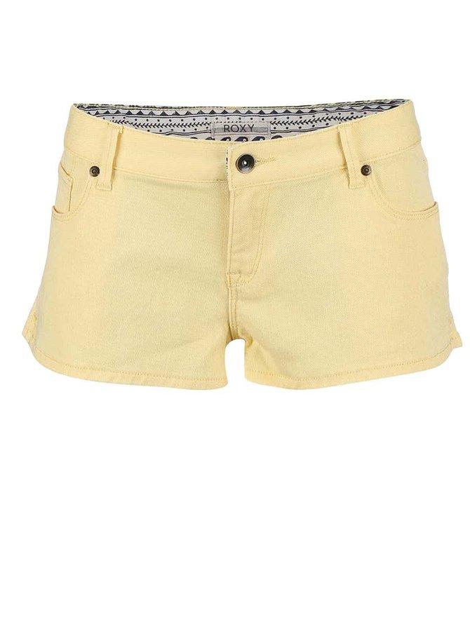Pantaloni scurți Roxy Forever galbeni