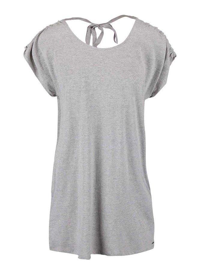 Tricou Roxy gri lung
