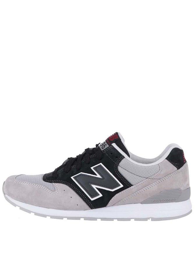 Pantofi sport bărbătești New Balance 996 gri-negri