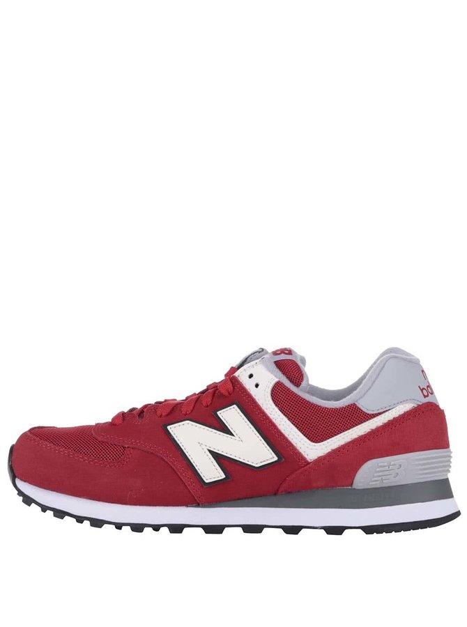 Pantofi sport bărbătești New Balance roșii